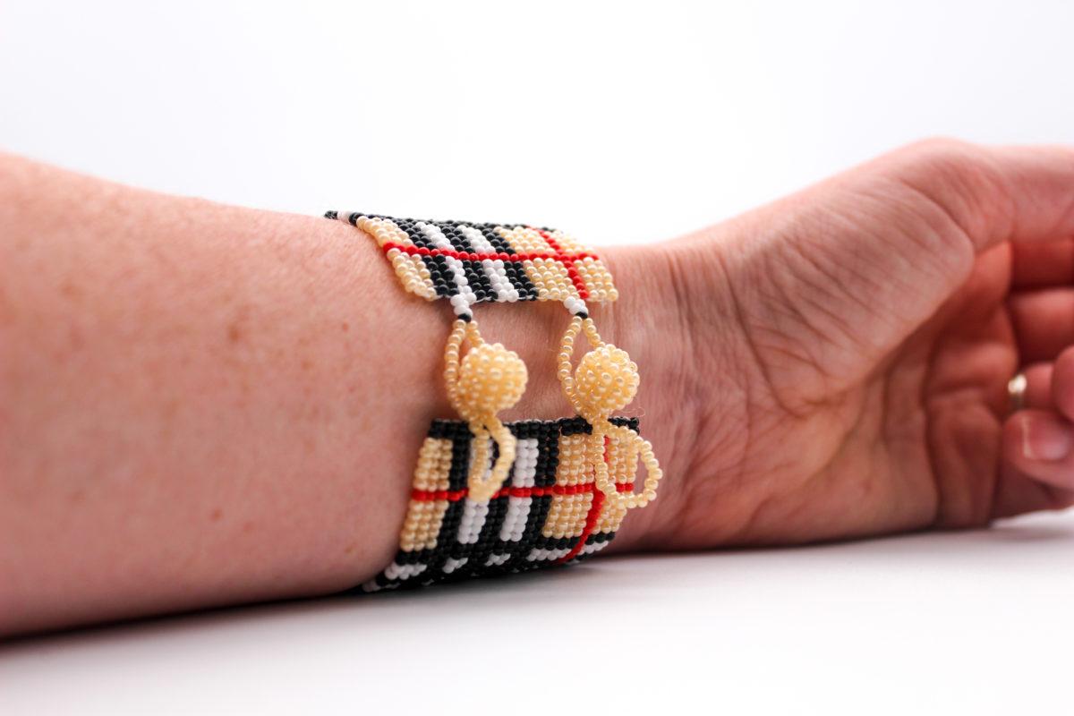 beaded-wrist-cuff