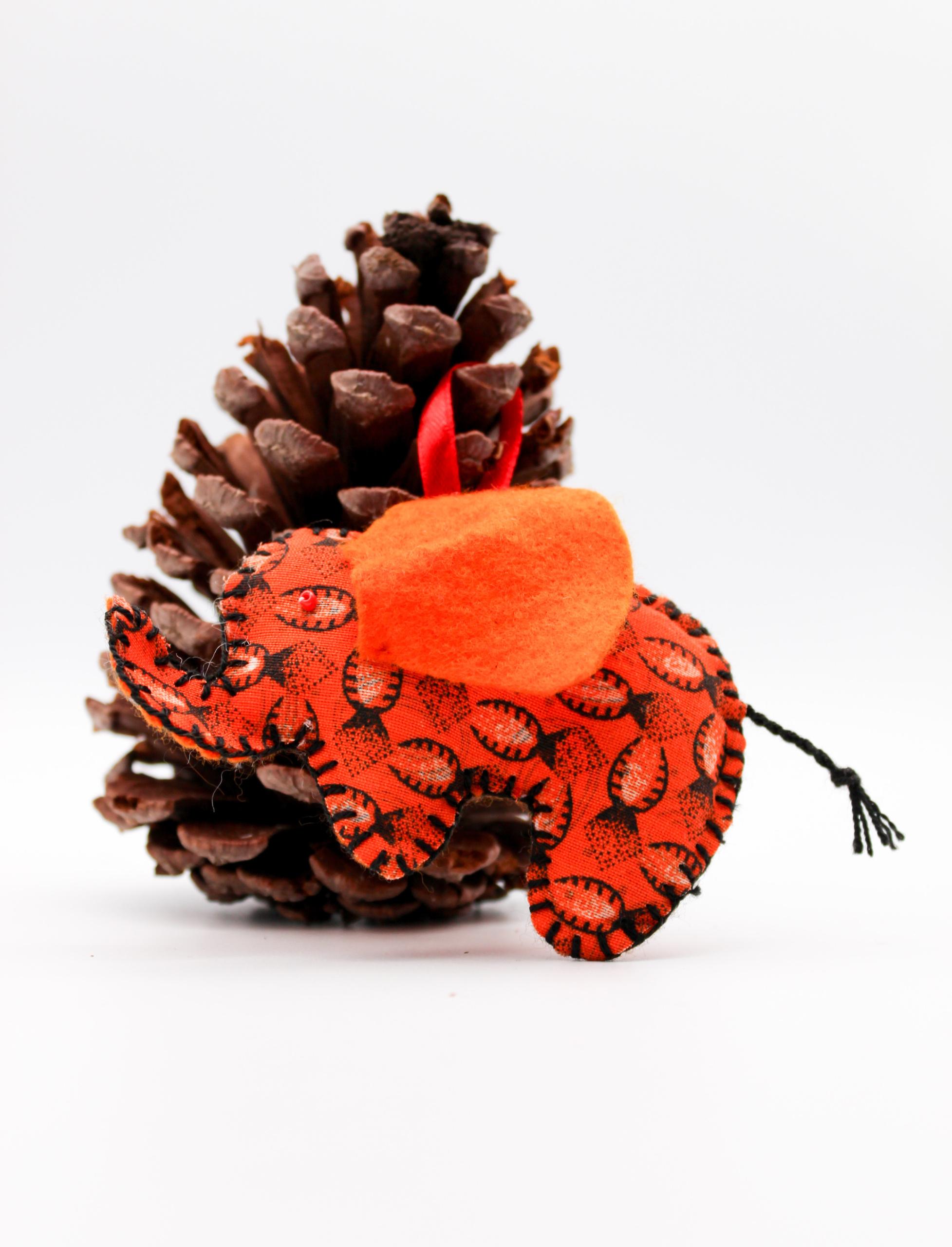 Christmas-elephant-orange