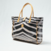 IY Apparel-beach bag-zebra